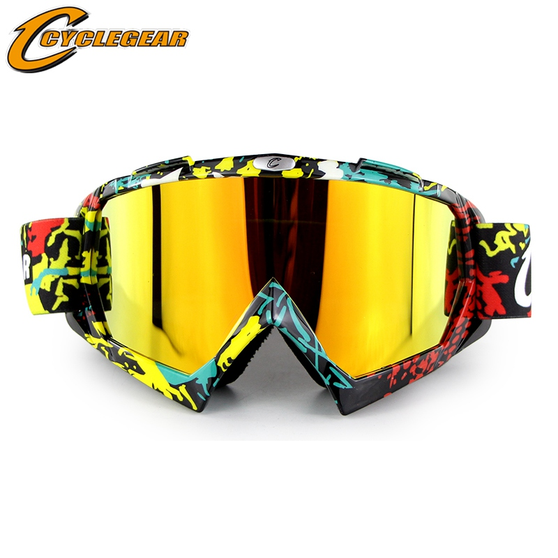 Skiing & Snowboarding Good Hot Promotion Ski Glasses Mask Goggles For Sakteboard Sport Motorcycle Helmet Gafas Fitting For Open Face Retro Helmet Cg12 Sports & Entertainment