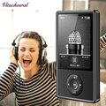 2017 Nueva Original X11 Reproductor de MP3 8 GB 2.4 Pulgadas Pantalla de reproducción 60 h Mp3 Reproductor de Música de ALTA FIDELIDAD reproductor de música FM de vídeo soporte de tarjeta SD de 64 GB