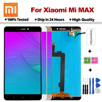 100% Test LCD For 6.44 XIAOMI Mi Max LCD Display Touch Screen Digitizer Assembly with Frame Mimax No Dead Pixel