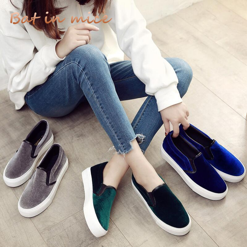 2018 New spring women flat shoes Casual flat Single shoes Loafers women Platform Thick bottom Fashion cozy Breathable shoes C483 2017 new spring imported leather men s shoes white eather shoes breathable sneaker fashion men casual shoes