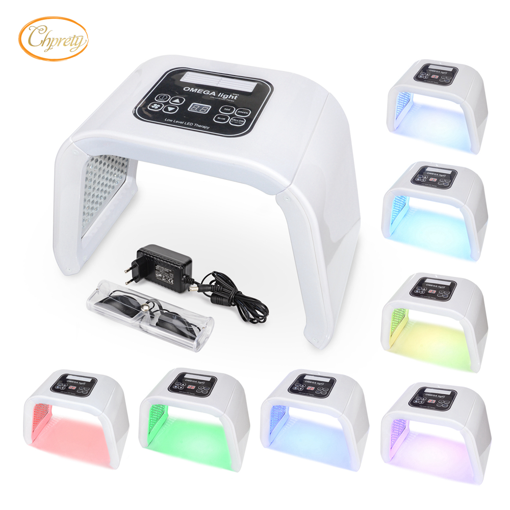 7 Color Portable PDT Photon Omega Light Therapy Acne Remover Whitening Skin Rejuvenation Led FaceMask Photontherapy Lamp Machine7 Color Portable PDT Photon Omega Light Therapy Acne Remover Whitening Skin Rejuvenation Led FaceMask Photontherapy Lamp Machine