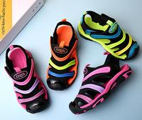 girl sandals 2018 boy Baotou soft summer children's caterpillar children's shoes boy sandals kids