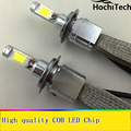 Все-в-Одном Фары Автомобиля H7 СВЕТОДИОДНЫЕ H8/H9/H11 9005 9006 H1 H4 Авто Лампы передняя Лампа 30 Вт 6000lm Автомобилей Фары 6000 К/4300 К