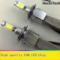 All-in-One Faróis Do Carro H7 LEVOU H8/H9/H11 9005 9006 H1 H4 Lâmpada Auto frente Lâmpada 30 W 6000lm Automóveis Farol 6000 K/4300 K