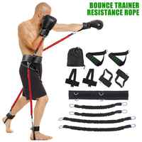 New Sports Fitness Resistance Belt Set Leg and Arm Boxing Exerciser Jumping Strength Training Equipment Fitness Resistance Bands