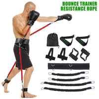 Nuevo juego de cinturón de resistencia deportiva para ejercicio de boxeo en pierna y brazo equipo de entrenamiento de fuerza de salto bandas de resistencia de Fitness