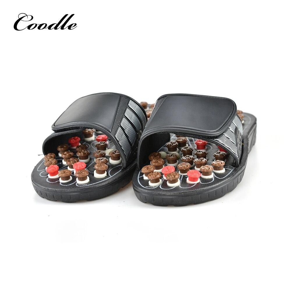 Sepatu Kaki Sandal Pijat Kesehatan Refleksi Tua Sehat Produk Perawatan Istirahat Batu Kerikil