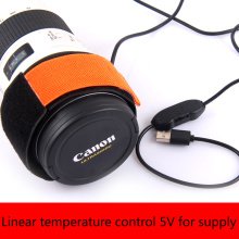 5V Телескопы камеры DSLR Объектив росы нагревательная лента линейный контроль температуры росы нагреватель