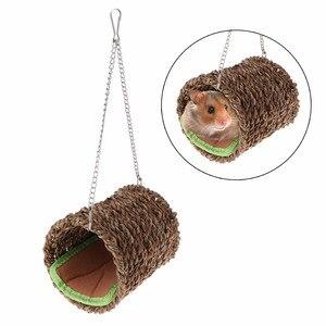 Hamster Nest House Natural Gra