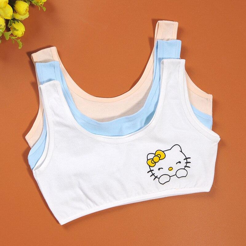 Girls Bras Sports Bra Vest Young Girl Underwear No Rim -3552
