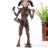 NECA Pans Labyrinth Fauno Faun Action Figure El Laberinto Del PVC Collection Model Toy Birthday Gift