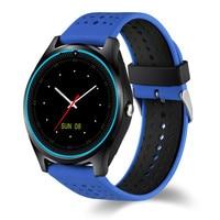 Mode V9 Kleurrijke Bluetooth Smart Horloge Ondersteuning Stappenteller Handsfree Sync MP3 Speaker SIM Tf-kaart Polshorloge Voor Mobiele Telefoon