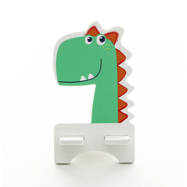 Baby Souvenirs Wedding Gifts for Guest Phone Holder Accessory Dinosaur Holder Stand Back To School Birthday Party Present Favors