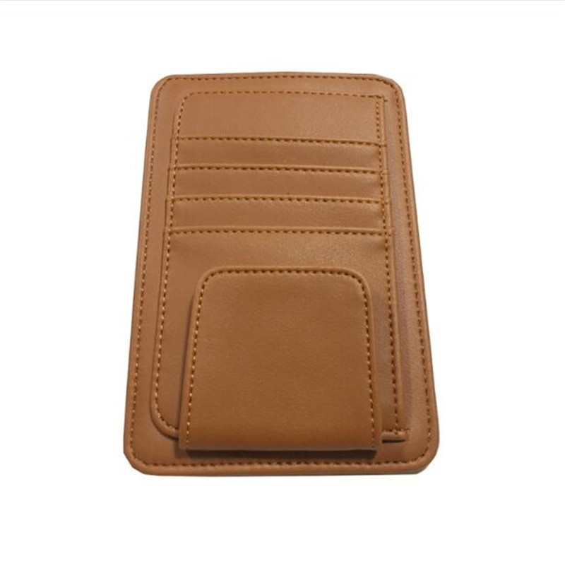 Brown color Sunglasses, ID, Credit Card  Holder Clips Bags