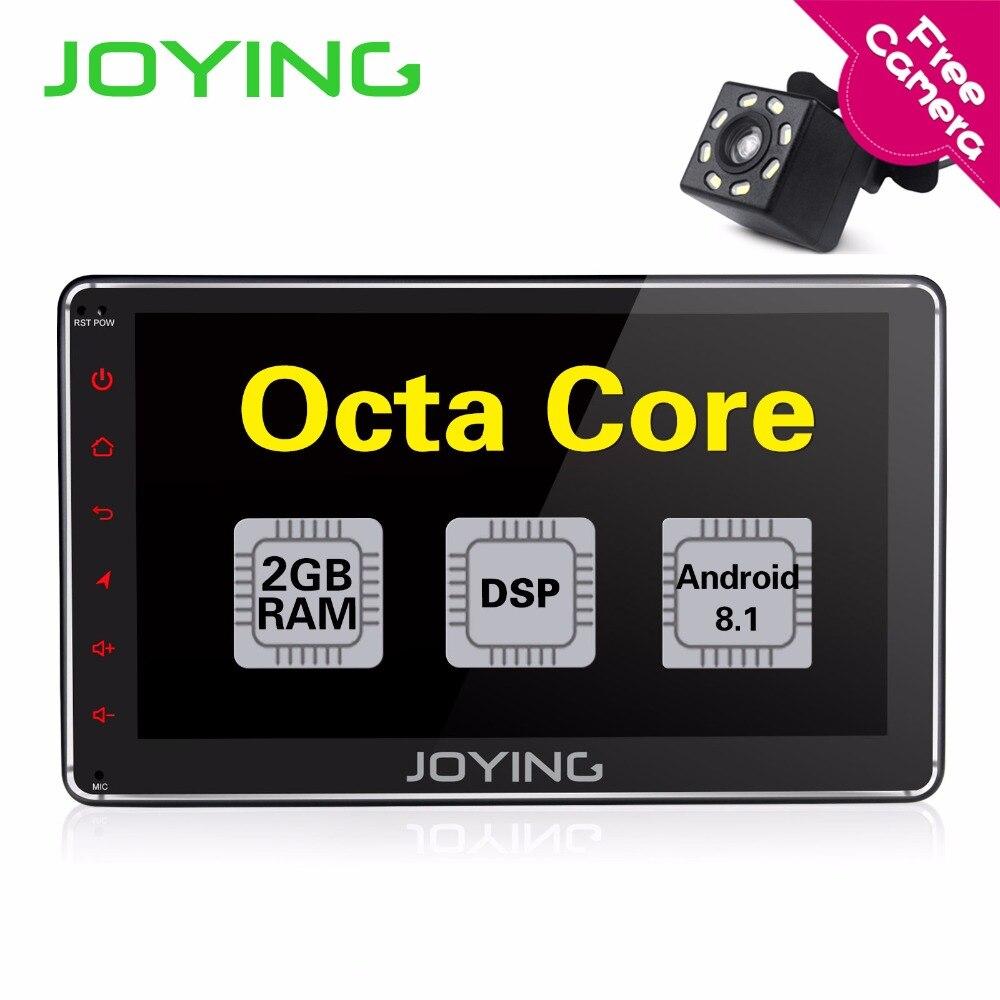 JOYING 7 ''Android 8.1 Car Radio Stereo OCTA CORE 1 DIN GPS audio stereo di Avvio Veloce Split Screen DSP con il trasporto macchina fotografica di retrovisione