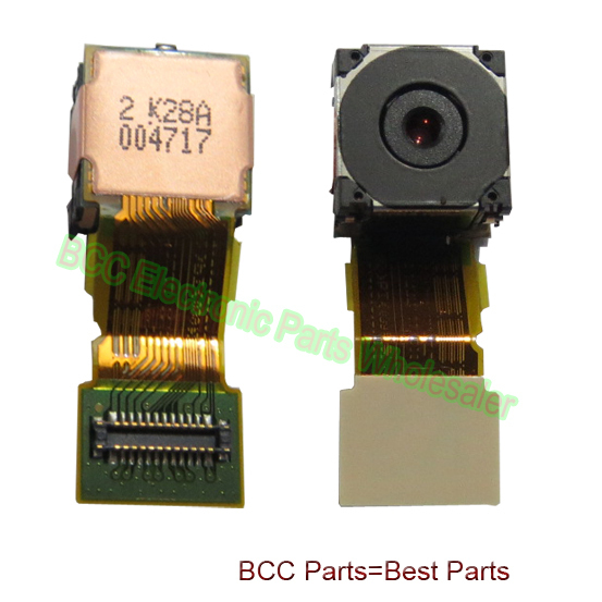 2pcs/Lot For Sony LT15 LT18 X12  LT18i  LT15i big back rear camera module Lens  flex ribbon cable 100% original 1 year warranty