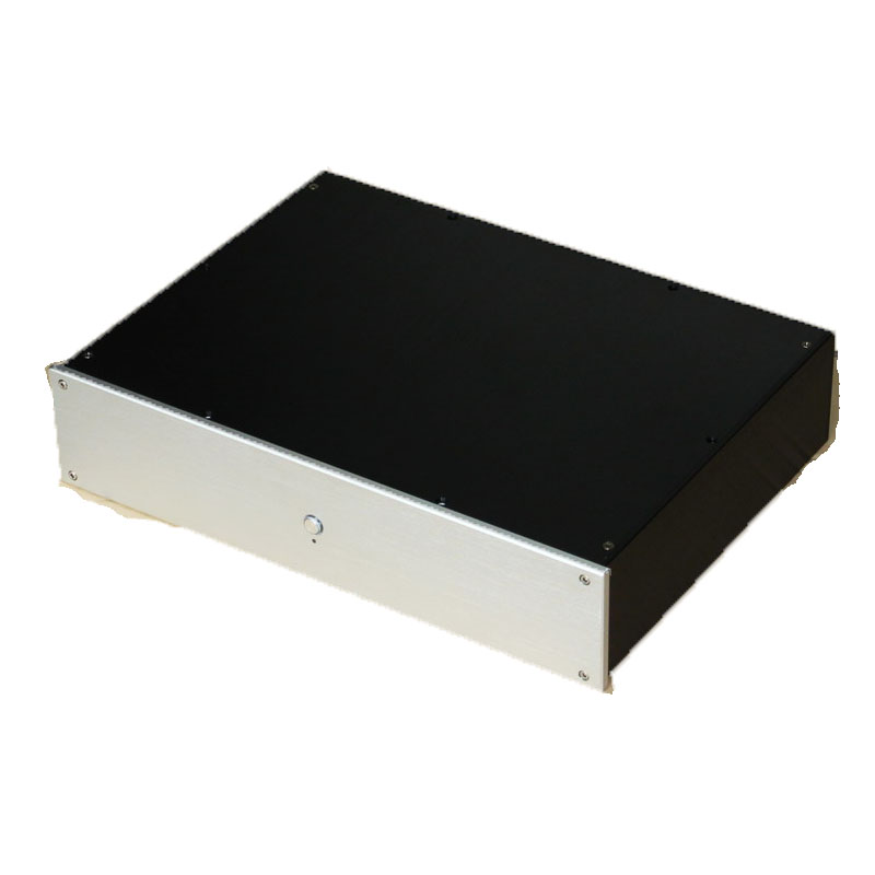 WA51 Full aluminum amplifier chassis/ Pre-amplifier / DAC Decoder housing / AMP Enclosure / amplifier case / DIY box все цены