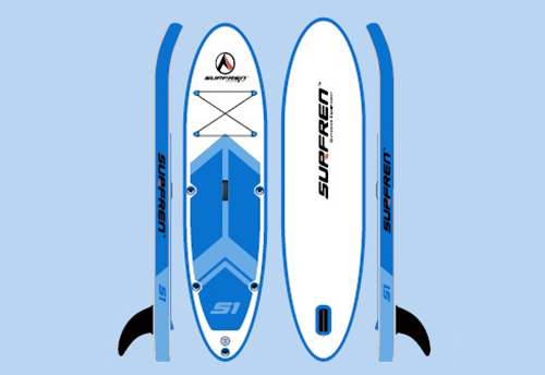 GofunSURFREN SUP Stand Up Paddle Surfboard Inflatable Board SUP Set Wave Rider + Pump inflatable surf board paddle boat water sport inflatable sup board surf stand up paddle boards