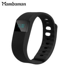 Mambaman TW64 Фитнес трекер Bluetooth SmartBand Спорт Браслет Смарт Группа Браслет Шагомер для iPhone iOS андроид PK fitbit