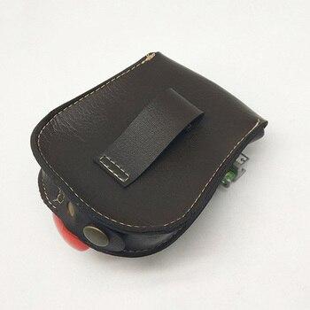 Professional steel ball Slingshot package Outdoor sports leather Slingshot bag back through the belt for hunting 2