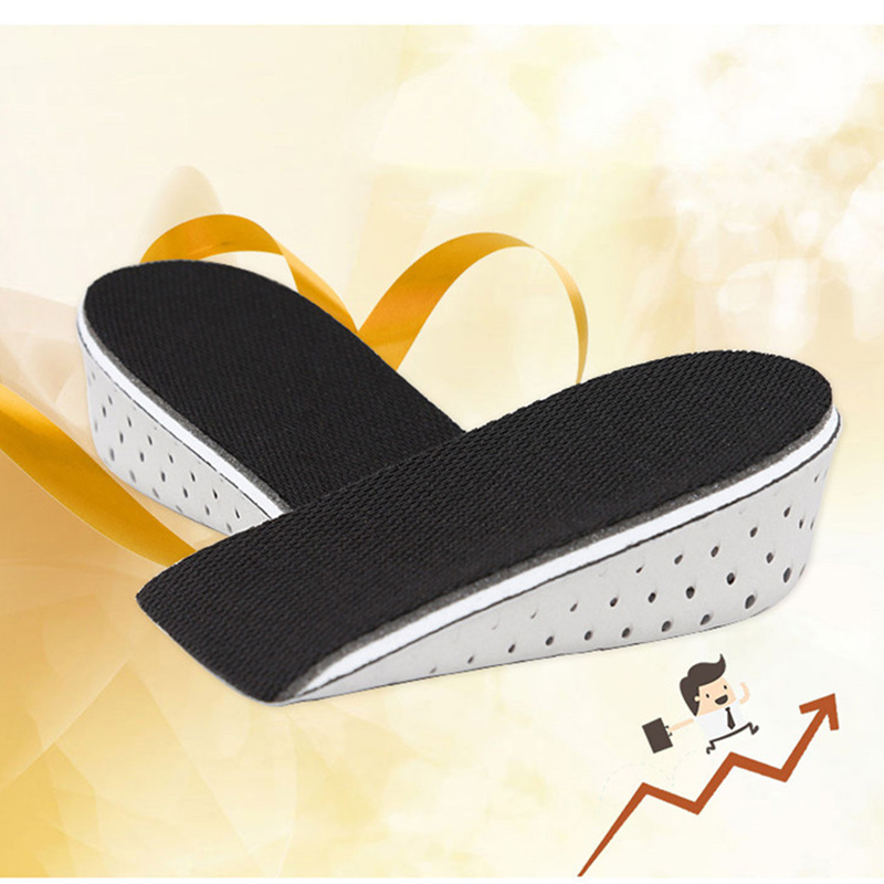 2pairs/lot Increase Height Insoles Memory Cotton Breathable Half Pad Insoles Inserts Foot Care Pads Men Women Insoles pad