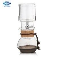 400 ml Bebida Fria de Café do Gotejamento de Gelo Fabricante de Filtros de Água Para Casa Ampulheta De Vidro de Vidro da cozinha Para 2 copos Nova Percolators Café Pot