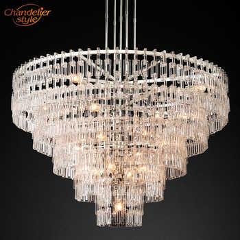 Marignan Round Chandelier Modern Crystal Chandelier Lighting Vintage Cristal Hanging Chandeliers Interior Light Fixtures - Category 🛒 Lights & Lighting