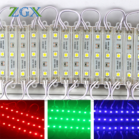 SMD LED Module 5050 20PCS Lot Billboard Channel Letter Cosmetic Atmosphere Decor Advertis Light Lamp DC12V