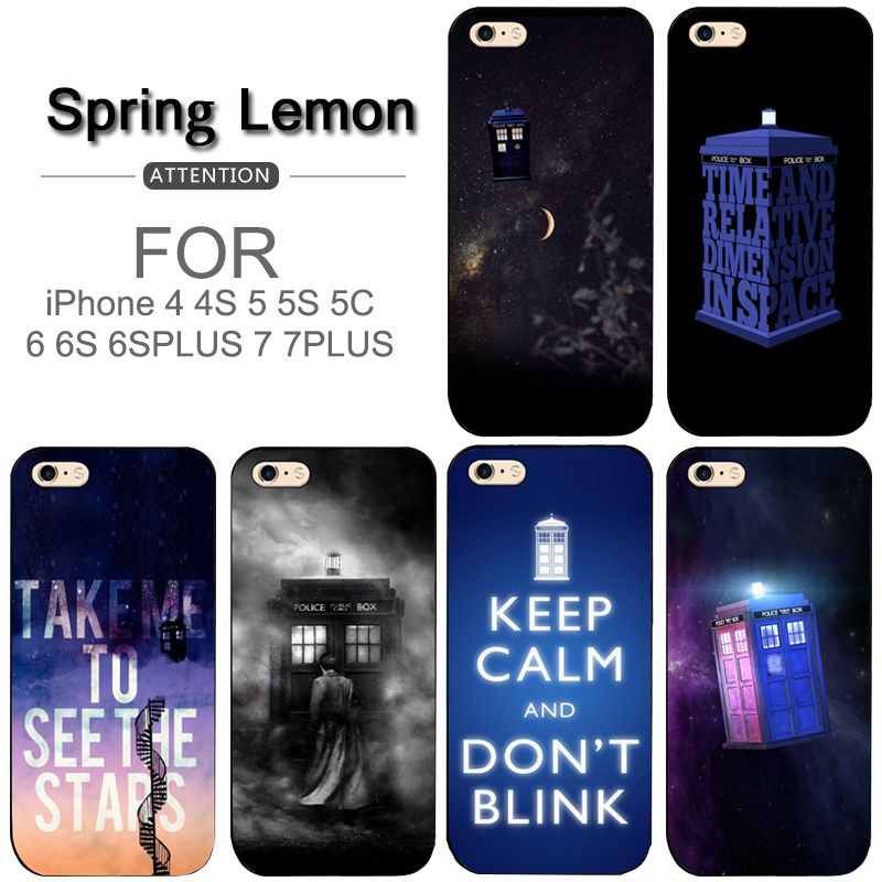 Phone Bags & Cases Dr Doctor Who Police Call Box Soft Tpu Phone Case For Iphone 5 5s 6 6s 7 8 Plus X Xr Xs Max Shrink-Proof Cellphones & Telecommunications