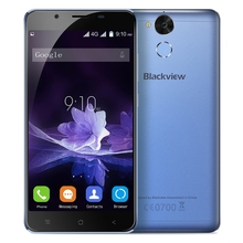 Blackview P2 4G Android 6.0 Mobile Phone 5.5 Inch MTK6750 Octa Core 1.5GHz Smartphone 4GB+64GB Fingerprint 8.0MP+13.0MP Cam