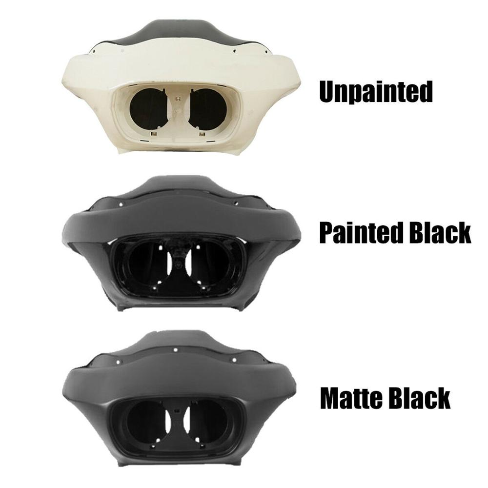 Inner and Outer Headlight Fairing Harley Road Glide 1998-2013 Matte Black
