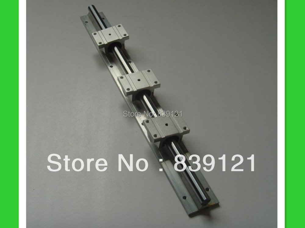 low price for China linear round guide rail guideway TBR20 rail 500mm take with 3 block slide bearings high precision low manufacturer price 1pc trh20 length 2300mm linear guide rail linear guideway for cnc machiner