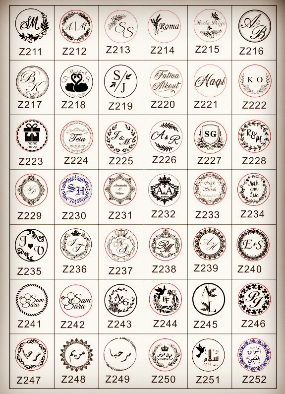 Image 4 - Design Your Own Embosser Stamp / Custom Embosser Seal for Personalized / Wedding Seal Envelope Leather-in Stamps from Home & Garden