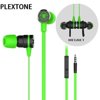 New PLEXTONE G20 In Ear Professional Gaming Headset With Extend Cable Noise Cancelling Stereo Bass Earphone