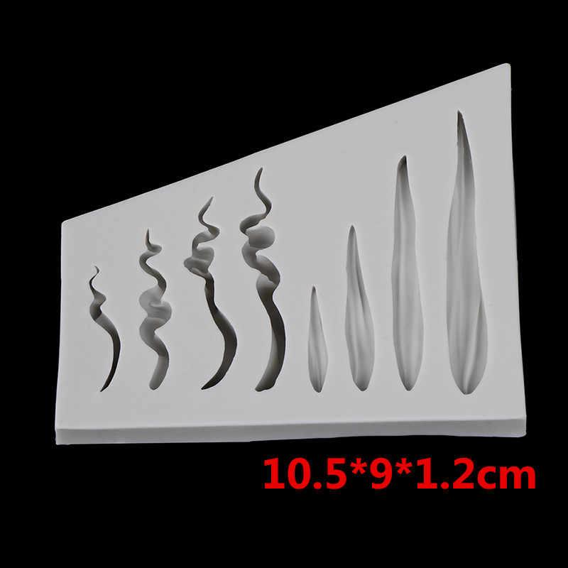 Tự Làm 3D Tóc Búp Bê Khuôn Mặt Bé Fondant Khuôn Bánh Trang Trí Khuôn Socola Khuôn Bánh Silicone Tùy Chỉnh Dụng Cụ