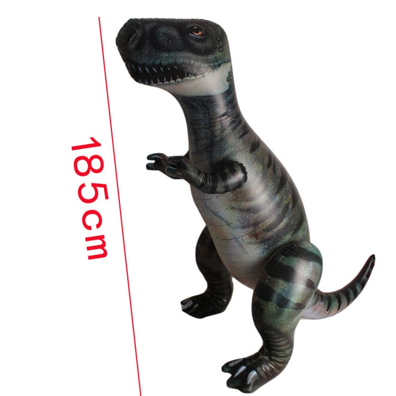185cm Giant Inflatable Dinosaur Child Toys Thicken PVC Tyrannosaurus Rex Model Inflatable toys  Party Supplies Stage Decoration (2)
