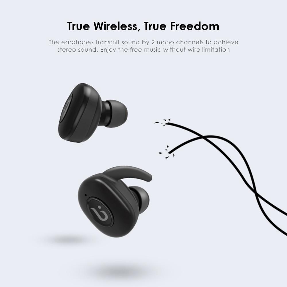 353239e4a30 BOROFONE BE8 TWS True Wireless Earbuds Bluetooth 4.1 Sports Headphones with  Recharging Storage Box