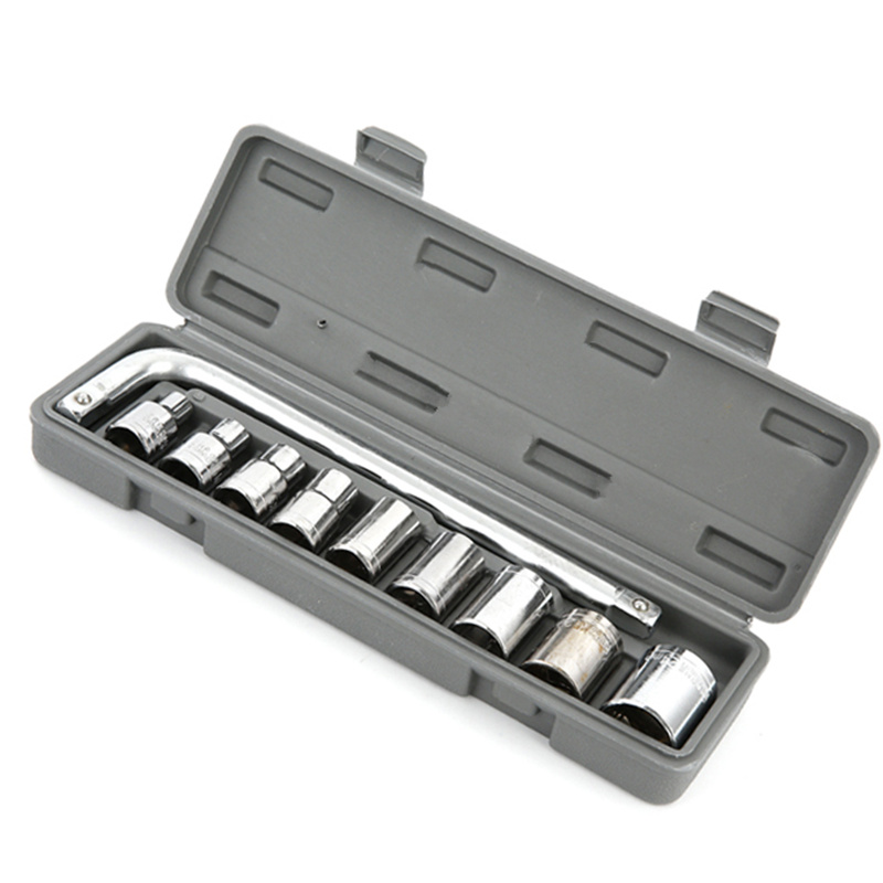 10 In 1 High Hardness Sleeve Combination Set Carbon Steel Car Repair Tool Wrench Screwdriver Hardware Tools Portfolio 46pcs set carbon steel combination tool set wrench batch head ratchet pawl socket spanner screwdriver household car repair tool