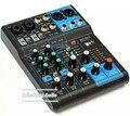 Профессиональный DJ Микшер 6 каналов Аудио Микшер MG06X consule с встроенных эффектов