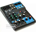 Profesional DJ Mixer 6 channel Audio Audio Mixer  MG06X consule with built-in effects