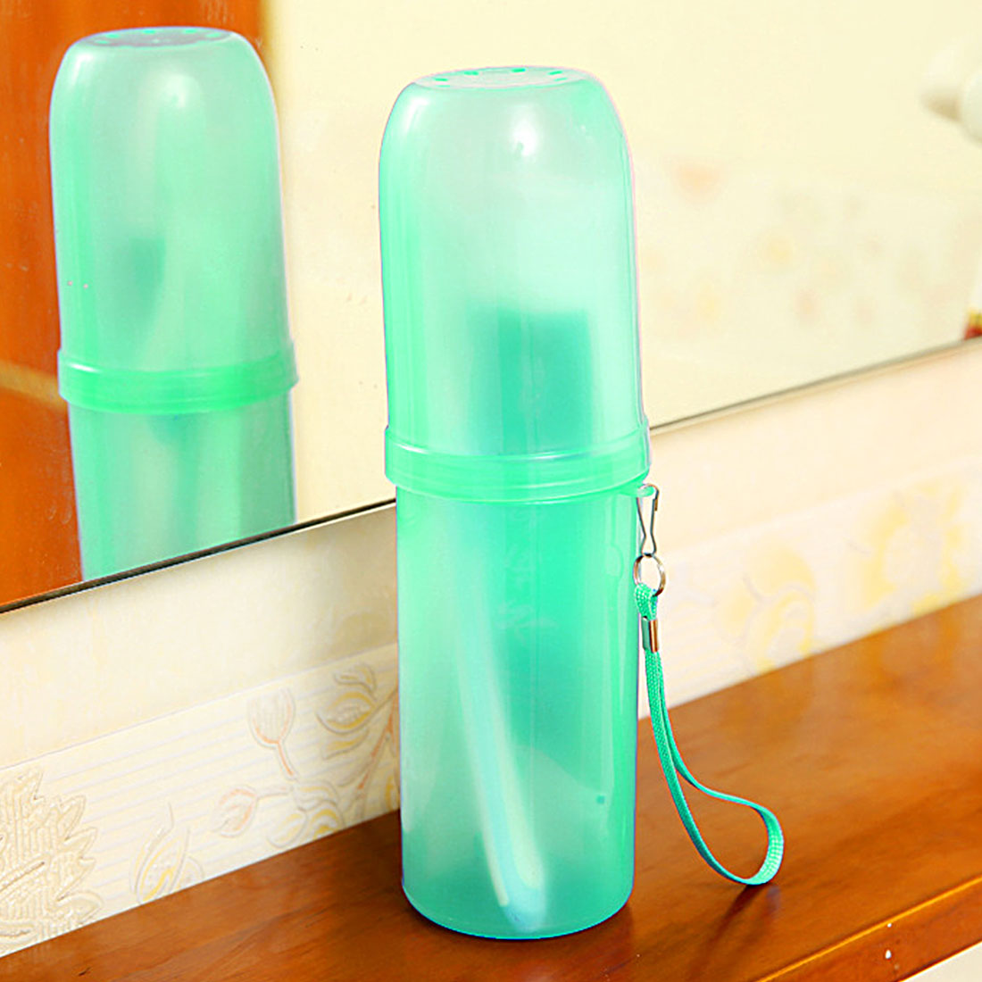 Top Sale Portable Toothbrush Holder Toothpaste Tower Tooth Case Cover Cup Bath Travel Outdoor Personal Clean Tool