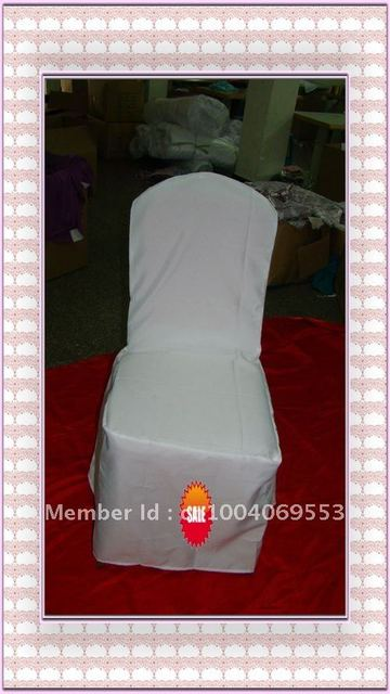 Free shipping -Top quality ivory spandex chair cover/lycra chair cover
