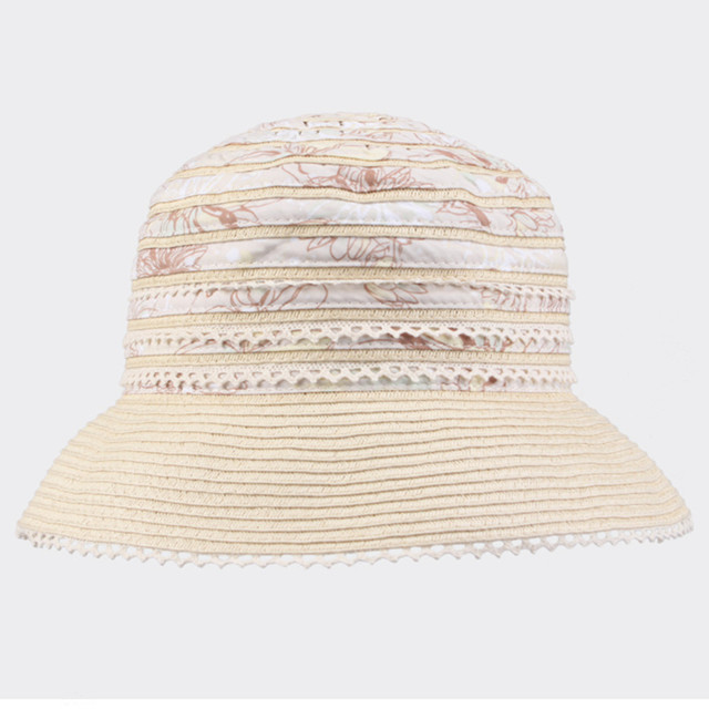 Free Shipping Kenmont Bucket Hat Boonie Summer Women 100% Cotton Outdoor Sun Beach Beige Cap 0599