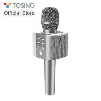 TOSING karaoke microfono Senza Fili di Bluetooth A Condensatore microfone professionale Del Telefono Mobile KTV MIC Giocatore di musica per iOS Android
