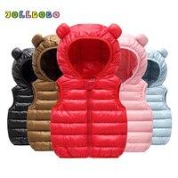 Весенне-зимние милые детские жилетка, без рукавов куртки детские От 0 до 2 лет для маленьких девочек жилеты теплая верхняя одежда для маленьк...