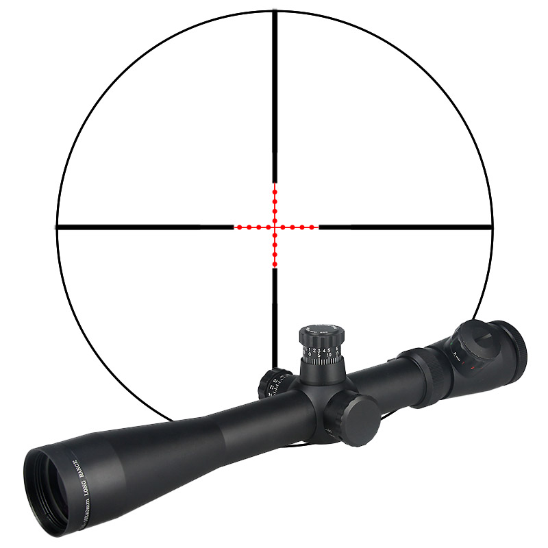 PPT Tactical Riflescopes Air Gun Accessories Red/green Reticle Airsoft Scopes M1 3.5-10X40E Hunting Rifle Scope  GZ1-0038