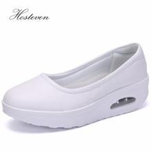 Hosteven Women Sneakers Shoes Summer Spring Ladies Casual Flats Chaussure Platform Breathable Mesh Shoe