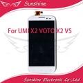 Para UMI X2 VOTO X2 V5 Screen Display LCD com a Montagem da Tela de Toque