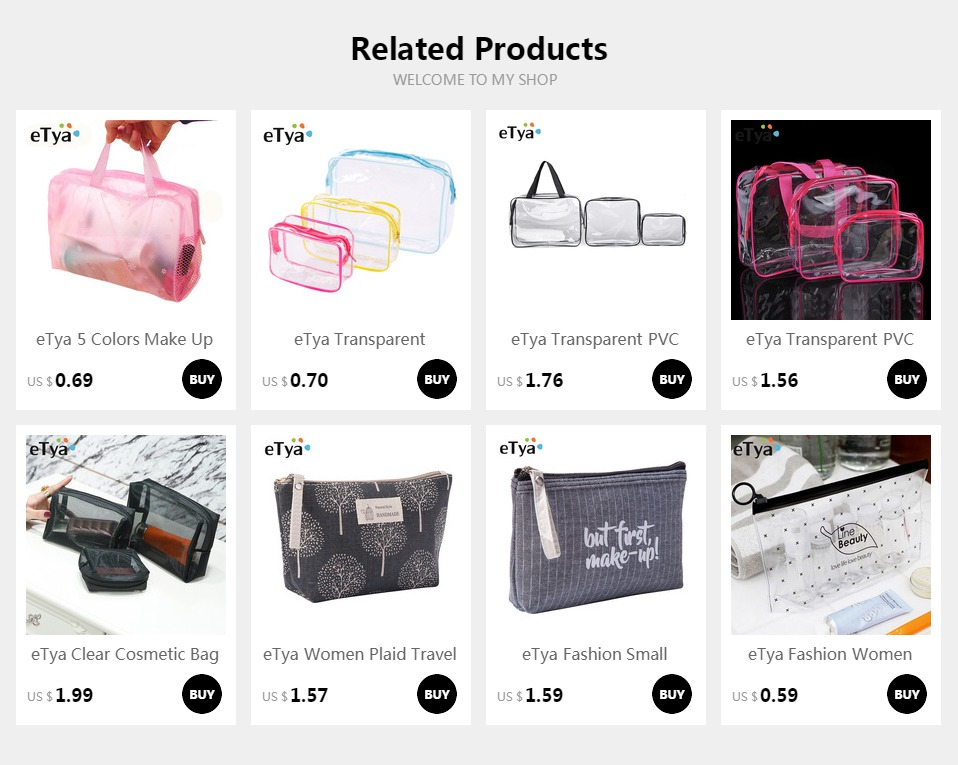 7c3913ea0fbd eTya Travel Transparent Cosmetic Bag Shoes Clothing Luggage Box Travel  Accessories Clothes Wash Toiletries Organizer Makeup Bags