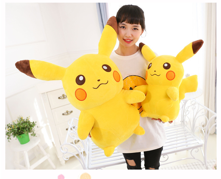 68cm 26 Height Giant Big Size Pikachued New Cotton Plush Doll Soft Stuffed Toy About 1kg Weight68cm 26 Height Giant Big Size Pikachued New Cotton Plush Doll Soft Stuffed Toy About 1kg Weight